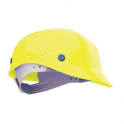Honeywell - BC86020000 - Yellow Polyethylene Vented Bump Cap, Style: Front Brim, Fits Hat Size: 6-1/2 to 8