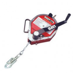 Honeywell - MR50GC-Z7/50FT - Miller by Honeywell 50' MIGhtEvac Self-Retracting 3/16 Galvanized Wire Rope Lifeline With Emergency Retrieval Hoist, 7' Tripod And Mounting Bracket, ( Each )