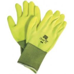 Honeywell - NF11HVY/11XXL - Coated Gloves, XXL, Hi Vis Yellow, PR
