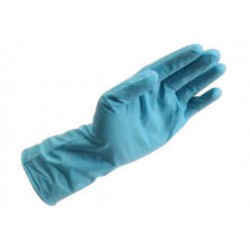 Honeywell - PSD-NI8-XXL - Honeywell 2X Blue 12 in PowerCoat 8 mil Latex-Free Nitrile Ambidextrous Non-Sterile Premium Powder-Free Disposable Glove With Smooth Finish And Rolled Cuff (100 Gloves Per Box)