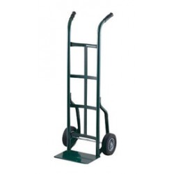 Harper Trucks - 20T60 - Harper Series 20T 800 lb Steel Industrial Hand Truck With 10' X 2 1/2' Offset Poly Hub Solid Rubber Wheels, Dual Handle And 8' X 14' Base Plate, ( Each )