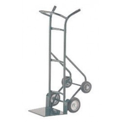 "Harper Trucks - 24T73-63 - Harper Series 24T 900 lb Pallet Truck With 8"" X 2"" Mold-On Rubber Wheels And Taper Nozzle Base, ( Each )"