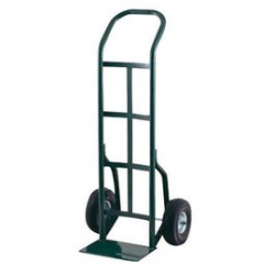 "Harper Trucks - 30T60 - Harper Series 30T 800 lb Steel Industrial Hand Truck With 10"" X 2 1/2"" Offset Poly Hub Solid Rubber Wheels, Continuous Handle And 8"" X 14"" Base Plate, ( Each )"
