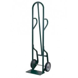 """Harper Trucks - 34T64 - Harper Series 34T 800 lb Steel Industrial Hand Truck With 10"""" X 2 1/2"""" Ball Bearing Polypropylene Hub Solid Rubber Wheels, Dual Loop Handle And 7"""" X 14"""" Base Plate, ( Each )"""