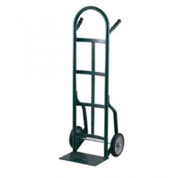 "Harper Trucks - 40T64 - Harper Series 40T 800 lb Industrial Hand Truck With 10"" X 2 1/2"" Solid Rubber Wheels, Dual Handle And 8"" X 14"" Base Plate, ( Each )"