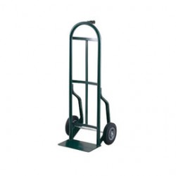 """Harper Trucks - 54T85 - Harper Series 54T 600 lb Steel Industrial Hand Truck With 8"""" X 2"""" Offset Poly Hub Solid Rubber Wheels, Pin Handle And 7"""" X 14"""" Base Plate, ( Each )"""