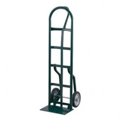 """Harper Trucks - 56NT60 - Harper Series 56NT 800 lb Steel Industrial Hand Truck With 10"""" X 2 1/2"""" Offset Poly Hub Solid Rubber Wheels, Loop Handle, 8"""" X 14"""" Base Plate And Narrow Frame, ( Each )"""