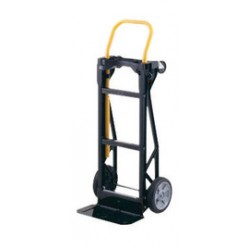"""Harper Trucks - 57T14 - Harper Series 57T Steel Hand Truck With 8"""" X 2 1/4"""" Offset Poly Hub Solid Rubber Wheels And Loop Handle, ( Each )"""