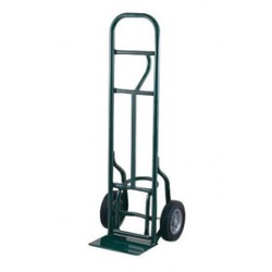 "Harper Trucks - 58K19 - Harper Series 58T 800 lb Industrial Hand Truck With 10"" X 3 1/2"" Pneumatic 2-Ply Tubeless Wheels, Single Loop Handle, 8"" X 14"" Base Plate And Eze-Off, ( Each )"