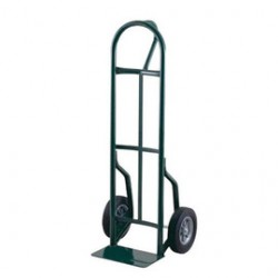 "Harper Trucks - 59T85 - Harper Series 59T 600 lb Steel Industrial Hand Truck With 8"" X 2"" Offset Poly Hub Solid Rubber Wheels, Loop Handle And 7"" X 14"" Base Plate, ( Each )"