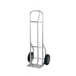 """Harper Trucks - A27L16Z - Harper Series A27L Aluminum Extra Heavy Duty Hand Truck With 10"""" X 3 1/2"""" Pneumatic 2-Ply Wheels, Loop Handle, 8"""" X 14"""" Base Plate And Frame, ( Each )"""