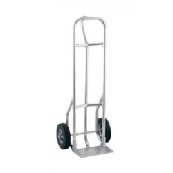 """Harper Trucks - A27L19 - Harper Series A27L 900 lb Aluminum Extra Heavy Duty Hand Truck With 10"""" X 3 1/2"""" Pneumatic 4-Ply Tire-Tube Wheels, Loop Handle, 8"""" X 14"""" Base Plate And Frame, ( Each )"""