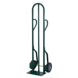 "Harper Trucks - CTD60 - Harper Series CTD 600 lb Steel Tall Hand Truck With 10"" X 2 1/2"" Offset Poly Hub Solid Rubber Wheels, Dual Loop Handle And 7"" X 14"" Base Plate, ( Each )"