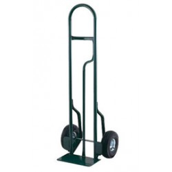 """Harper Trucks - CTL85 - Harper Series CTL 600 lb Steel Tall Hand Truck With 8"""" X 2"""" Offset Poly Hub Solid Rubber Wheels, Single Loop Handle And 7"""" X 14"""" Base Plate, ( Each )"""