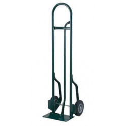 """Harper Trucks - CTP60 - Harper Series CTP 600 lb Steel Tall Hand Truck With 10"""" X 2 1/2"""" Offset Poly Hub Solid Rubber Wheels, Pin Handle And 7"""" X 14"""" Base Plate, ( Each )"""