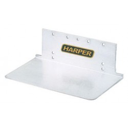 """Harper Trucks - GA - Harper 8"""" X 14"""" Extruded Aluminum Notched Base Plate, ( Each )"""