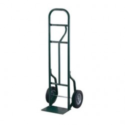 """Harper Trucks - LEO5814 - Harper Series LEO58T 800 lb Hand Truck With 8"""" X 2 1/4"""" Offset Poly Hub Solid Rubber Wheels, Loop Handle And 8"""" X 14"""" Base Plate, ( Each )"""