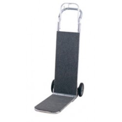 """Harper Trucks - MC77CB - Harper Executive 1 Carpeted Luggage Hand Truck With 8"""" X 1 5/8"""" Mold-On Rubber Wheels, ( Each )"""