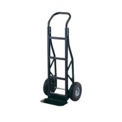 """Harper Trucks - PGCS86BLK - Harper Series PGC Nylon Hand Truck With 10"""" X 2"""" Solid Rubber Wheels, Continuous Handle And 7"""" X 14"""" Steel Base Plate, ( Each )"""