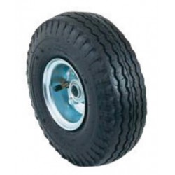 """Harper Trucks - WH19 - Harper 10'' X 3 1/2'' 350 lb Pneumatic 4-Ply Tire-Tube Wheel With 3 1/4"""" Offset Hub And 3/4"""" Ball Bearing, ( Each )"""