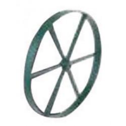 Harper Trucks - WH31K - Harper 18' 200 lb Steel Wheel (For Cylinder Carts), ( Each )