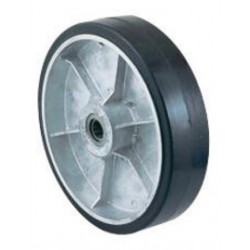 """Harper Trucks - WH59 - Harper 10"""" X 2 1/2"""" 790 lb Mold-On Rubber Wheel With 2 3/4"""" Hub And 7/8"""" Roller Bearing, ( Each )"""