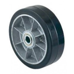 """Harper Trucks - WH67 - Harper 6"""" X 2"""" 460 lb Mold-On Rubber Wheel With 2 1/4"""" Hub And 3/4"""" Ball Bearing, ( Each )"""