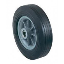 """Harper Trucks - WH83 - Harper 10"""" X 2 1/2"""" 400 lb Solid Rubber Wheel With 3 1/4"""" Polypropylene Hub And 3/4"""" Ball Bearing, ( Each )"""