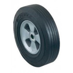 """Harper Trucks - WH84 - Harper 10"""" X 2 1/2"""" 400 lb Solid Rubber Wheel With 2 1/4"""" Offset Poly Hub And 3/4"""" Ball Bearing, ( Each )"""