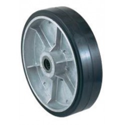 """Harper Trucks - WH89 - Harper 10"""" X 2 1/2"""" 790 lb Mold-On Rubber Wheel With 2 3/4"""" Hub And 1"""" Roller Bearing, ( Each )"""