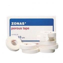 Johnson & Johnson - 700510300 - Tape Porous Cloth .5 In.X10 Yd. 24 Pkg Qty Zonas Johnson Johnson Healthcare System, 1/BX
