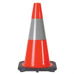 JBC Safety - RS45015C3M6 - JBC 18 Orange PVC Revolution Series Traffic Cone, ( Each )