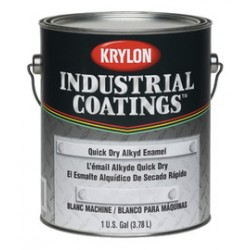 Krylon - K00780113-16-CA - Krylon Products Group 1 Gallon Aerosol Can Black Industrial Coatings Series 78 Quick Dry Alkyd Enamel Paint (4 Per Case), ( Case of 4 )