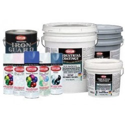 Krylon - K01663000-16 - Krylon Products Group 1 Gallon Can Industrial Coatings Ready to Use Acetone (4 Per Case)