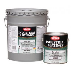 Krylon - K02000115-19 - Krylon Products Group 4 Gallon Pail Black Industrial Coatings Chemical Resistant Epoxy Coating Part A, ( Each )