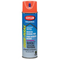 Krylon - S03408 - Quik-Mark Water-Based Fluorescent Inverted Marking Paints (Case of 12)