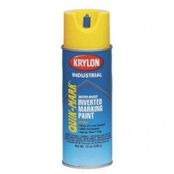 Krylon - S03801 - Quik-Mark APWA Water-Based Inverted Marking Paints (Case of 12)