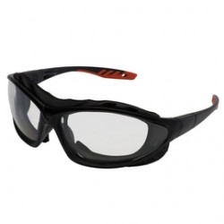 Kimberly-Clark - 33345-CA - Kimberly-Clark Professional* Jackson Safety* Epic* Black Safety Glasses With Clear Anti-Fog Lens, ( Case of 12 )
