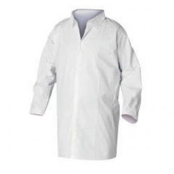 Kimberly-Clark - 36263 - Kimberly-Clark Professional* Large White KleenGuard* A20 SMS Disposable Breathable Particle Protection Frock