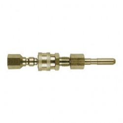 Lincoln Electric - AD1230-14 - Lincoln Electric .46 X 1/4 NPT Female Self Threading Polymer Conduit Connector, ( Each )