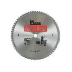 M.K. Morse - 100274 - MK Morse 8 X 5/8 5800 RPM 68 TPI Metal Devil NXT Tungsten Carbide Tipped Circular Saw Blade (For Use With Milwaukee 6370-20 Metal Cutting Circular Saw), ( Each )