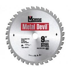 M.K. Morse - 100427 - Morse 10 X 5/8 5500 RPM 80 TPI Metal Devil NXT Tungsten Carbide Tipped Circular Saw Blade, ( Each )