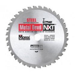 M.K. Morse - 101356 - Morse 7 1/4 X 5/8 5800 RPM 48 TPI Metal Devil NXT Carbide Tipped Circular Saw Blade (For Metal Cutting), ( Each )