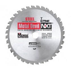 M.K. Morse - 101387 - Morse 8 X 5/8 5800 RPM 42 TPI Metal Devil NXT Carbide Tipped Circular Saw Blade (For Metal Cutting), ( Each )