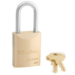 Master Lock - 6830LF - 5 Pin Brass Rekeyable Padlock Keyed Diffe