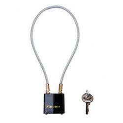 Master Lock - 99DSPT - Master Lock Black Laminated/Vinyl Coated Steel Gun Lock