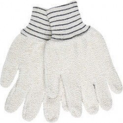 """Memphis Glove - 9402KM - Memphis Glove Small 5 3/4"""" Natural 18 Ounce Regular Weight Cotton Polyester Blend Terry Cloth Heat Resistant Gloves With Straight Thumb And 2 1/2"""" Knit Wrist"""