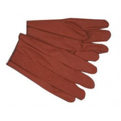Memphis Glove - 9800J - Memphis X-Large Russet Impregnated Vinyl Palm And Full Back Coated Work Gloves With Cotton Liner And Slip-On Cuff