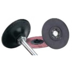 Merit Abrasives - 08834163948 - Merit 3 X 1/4 Soft Density Type-1 Holder (For Use With Aluminum Oxide Flexedge Cloth Disc And Quick-Change Back-Up Pads), ( Each )