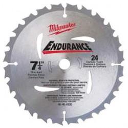 Milwaukee Electric Tool - 48-40-4123 - 7-1/4-Inch 24-Tooth Carbide Circular Sawblade